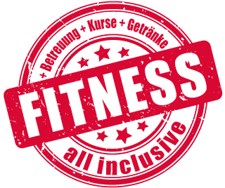 No.1 Fitness all inclusive Button - Fitness Betreuung Kurse